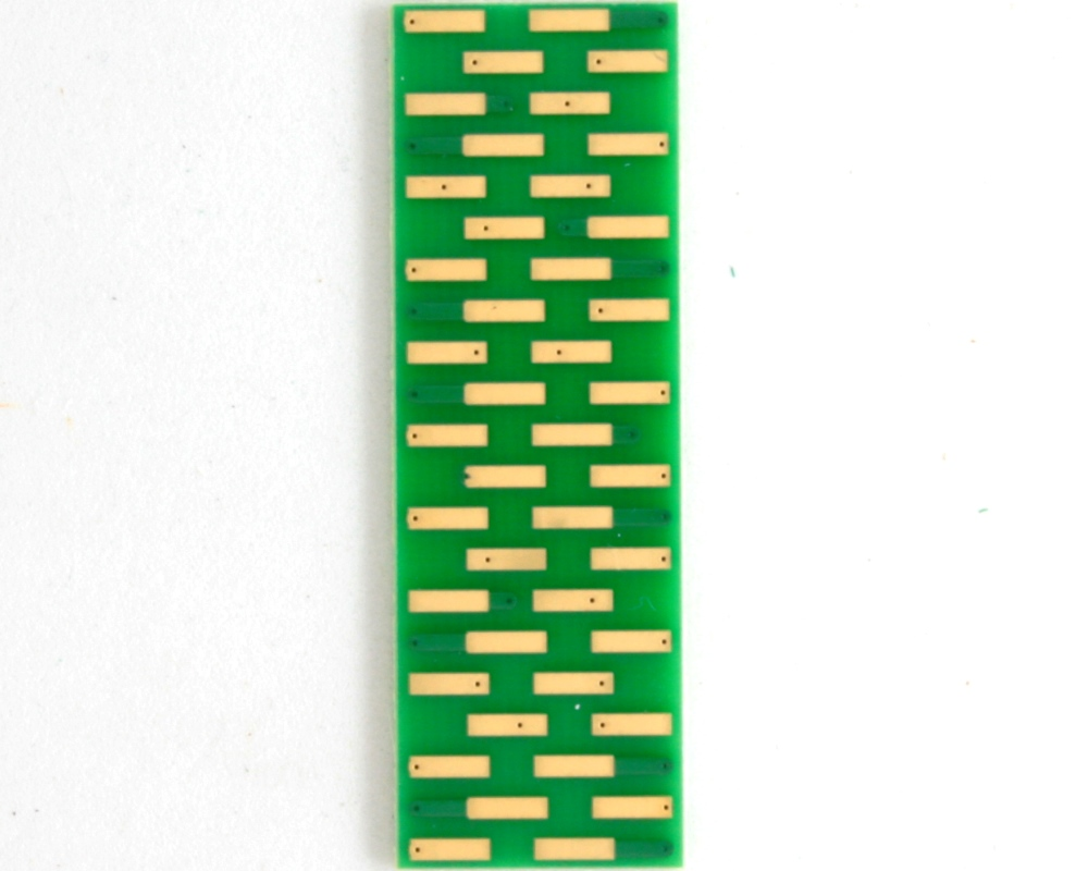 BGA-42 to DIP-42 SMT Adapter (0.5 mm pitch, 6 x 7 grid) 3