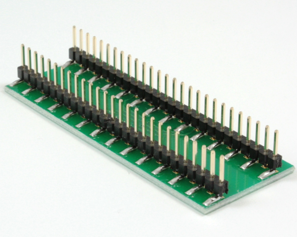 BGA-54 to DIP-54 SMT Adapter (1.2mm pitch, 6 x 9 grid) 1