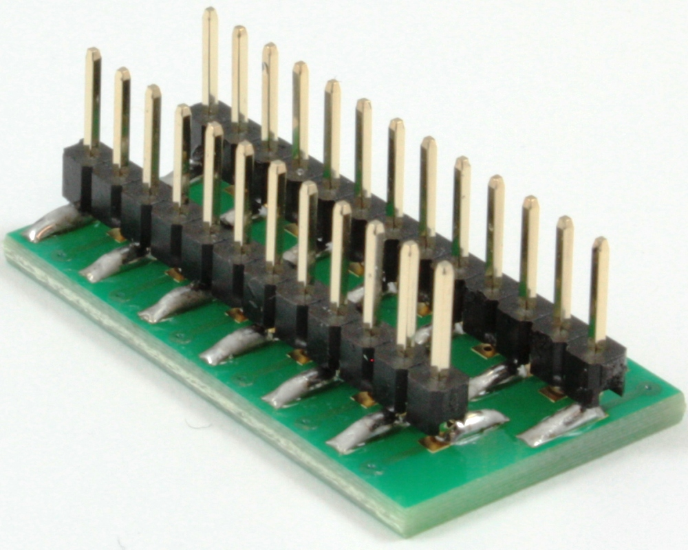 BGA-25 to DIP-25 SMT Adapter (0.4 mm pitch, 5 x 5 grid) 1