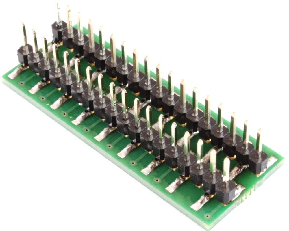 BGA-36 to DIP-36 SMT Adapter (0.3mm pitch, 6 x 6 grid) 1