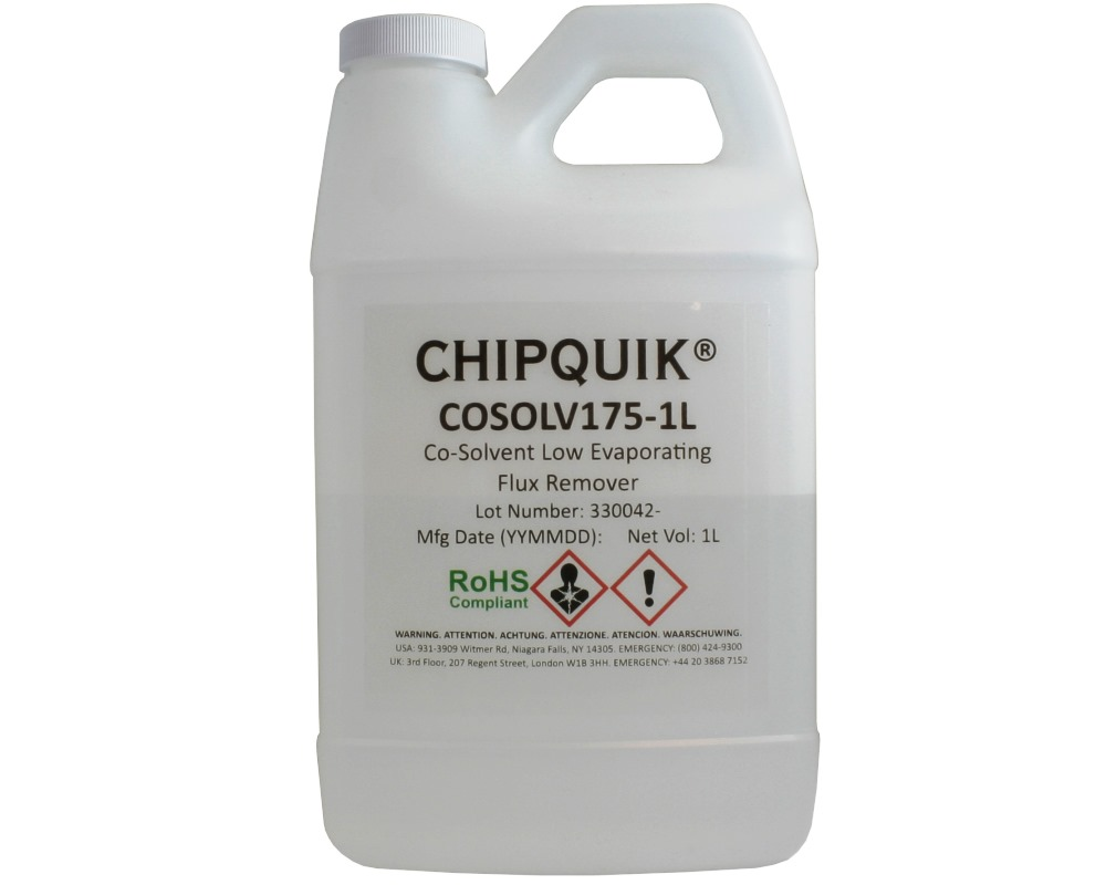 Co-Solvent 175 Low Evaporating Flux Remover 1L 0