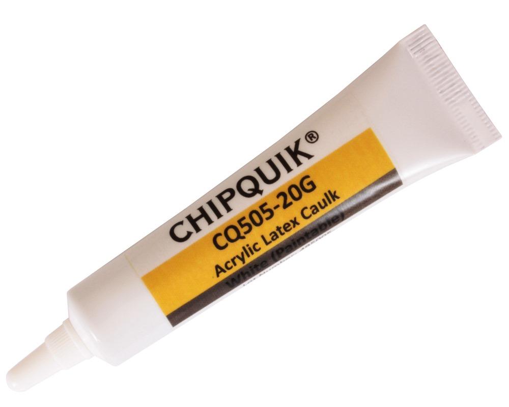 Acrylic Latex Caulk (Paintable) (White) 20g Squeeze Tube 0