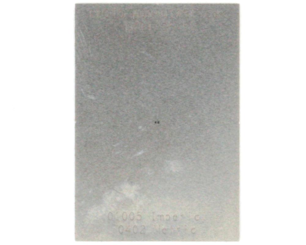 Discrete 01005 Stainless Steel Stencil 0