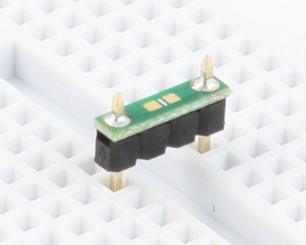 Discrete 0603 to 300mil TH Adapter - TH pins (10 pack) 0
