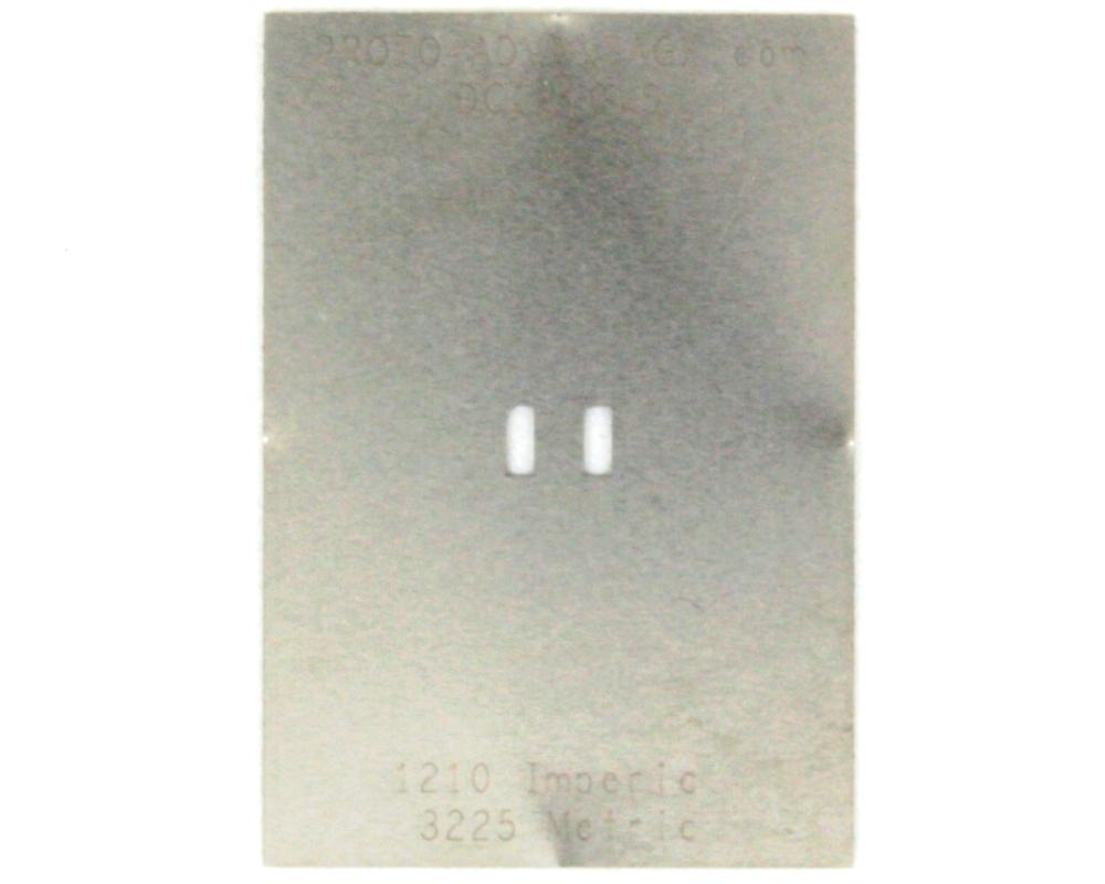 Discrete 1210 Stainless Steel Stencil 0