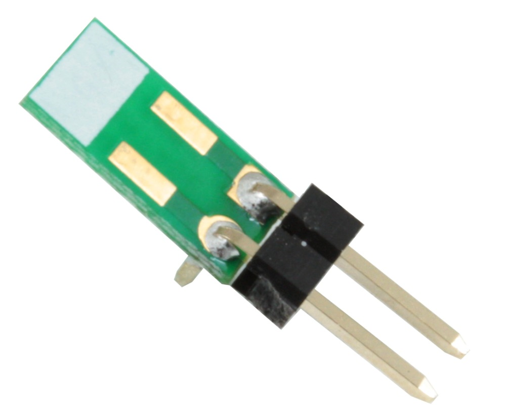 Discrete 1210 to TH Adapter - Jumper pins (10 pack) 0