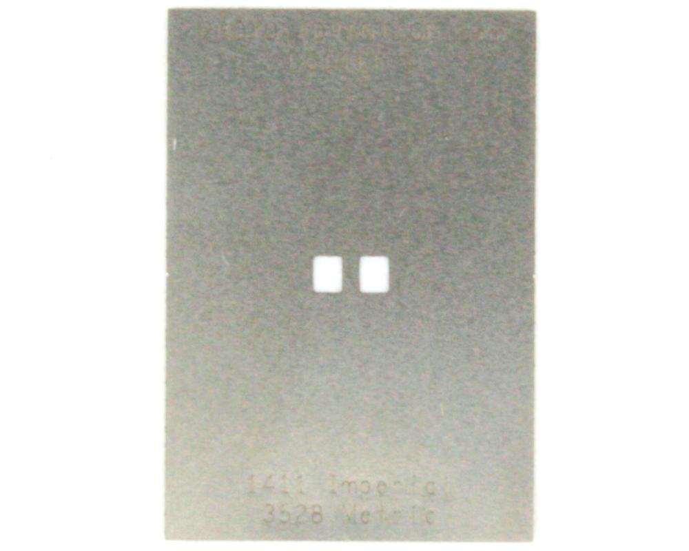 Discrete 1411 Stainless Steel Stencil 0