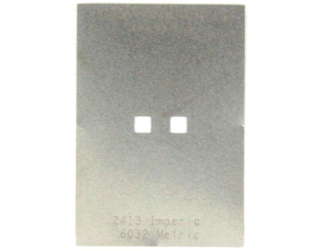 Discrete 2413 Stainless Steel Stencil 0