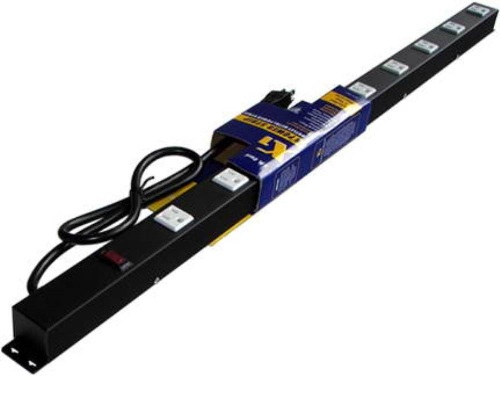 36 inch - 9 Outlet Metal Power Strip 0