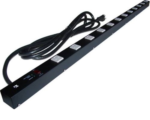 48 inch - 12 Outlet Power Strip with Surge Protector 0
