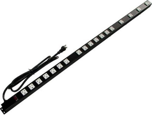 48 inch - 18 Outlet Metal Power Strip 0