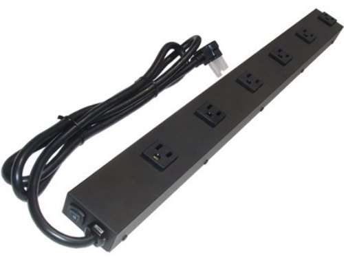 24 inch - 6 Outlet Metal Power Strip 0