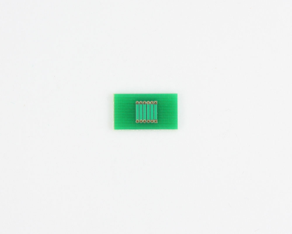 Pitch Changer 1.00 mm to 1.00 mm conversion -  6 pin 1