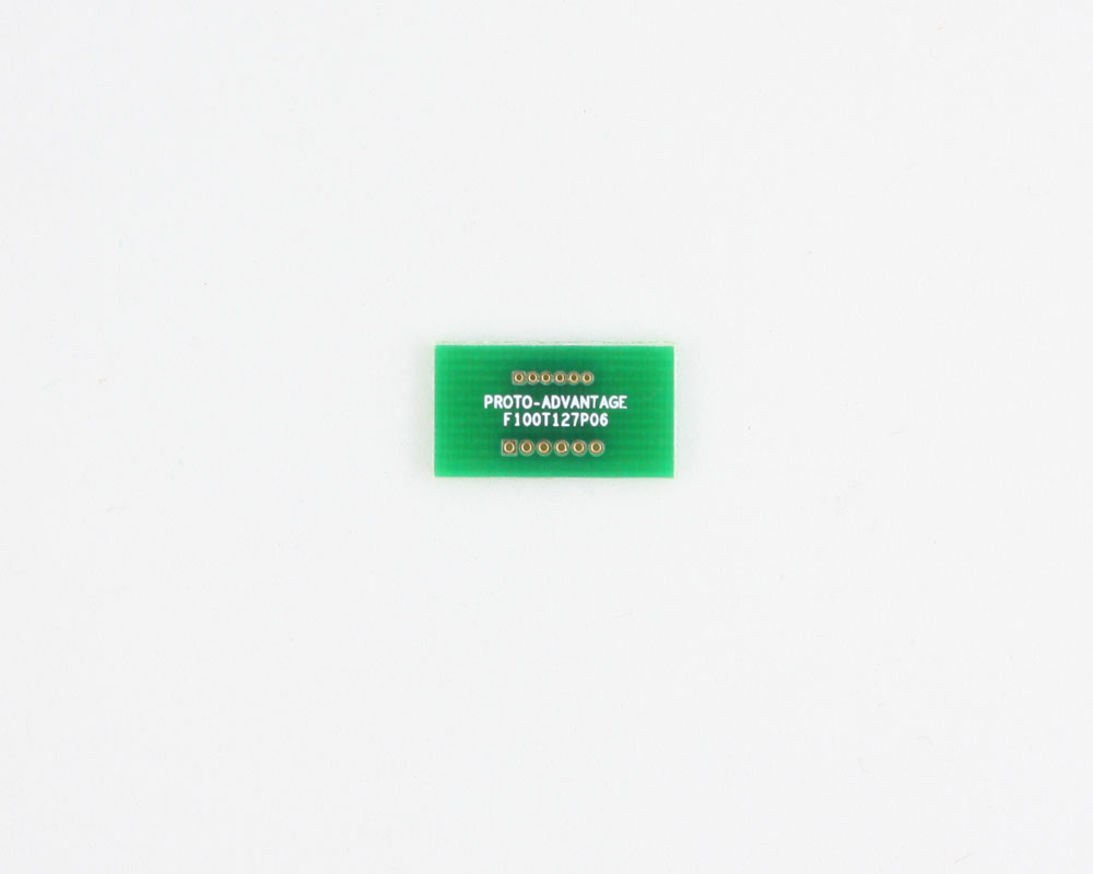 Pitch Changer 1.00 mm to 1.27 mm conversion -  6 pin 0