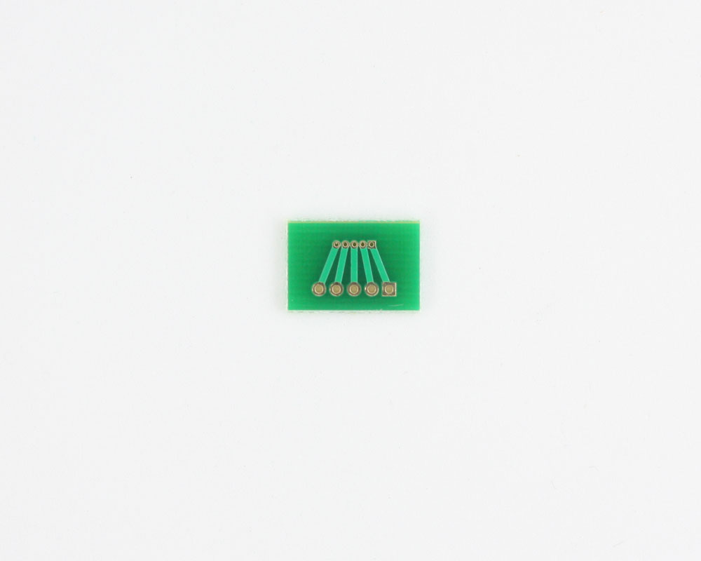 Pitch Changer 1.00 mm to 2.00 mm conversion -  5 pin 1