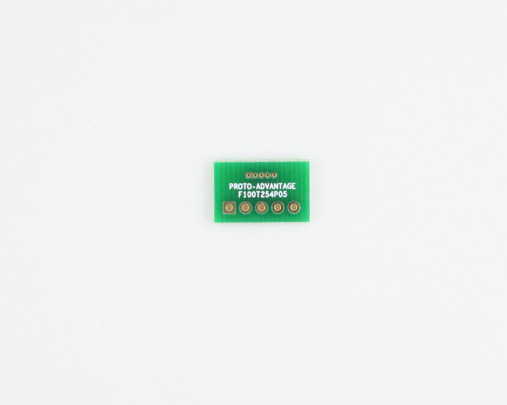 Pitch Changer 1.00 mm to 2.54 mm conversion -  5 pin 0