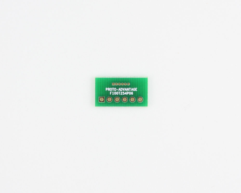 Pitch Changer 1.00 mm to 2.54 mm conversion -  6 pin 0