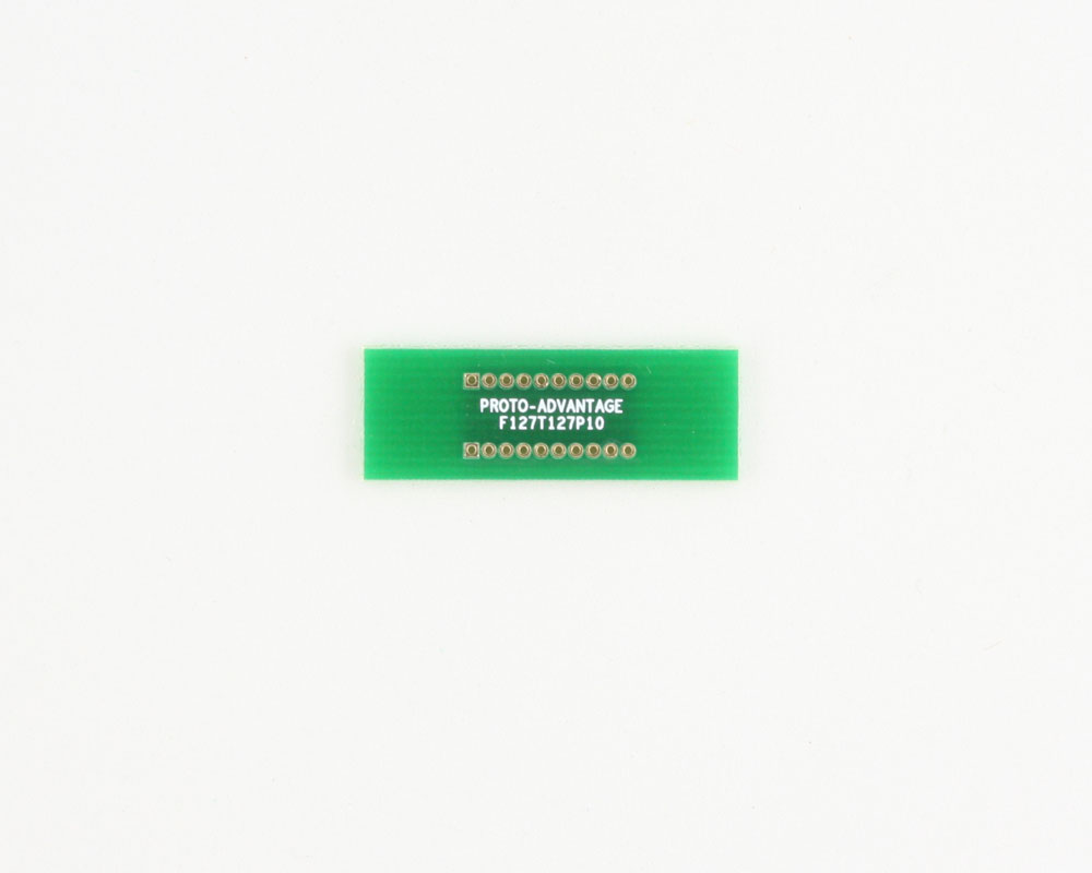Pitch Changer 1.27 mm to 1.27 mm conversion - 10 pin 0
