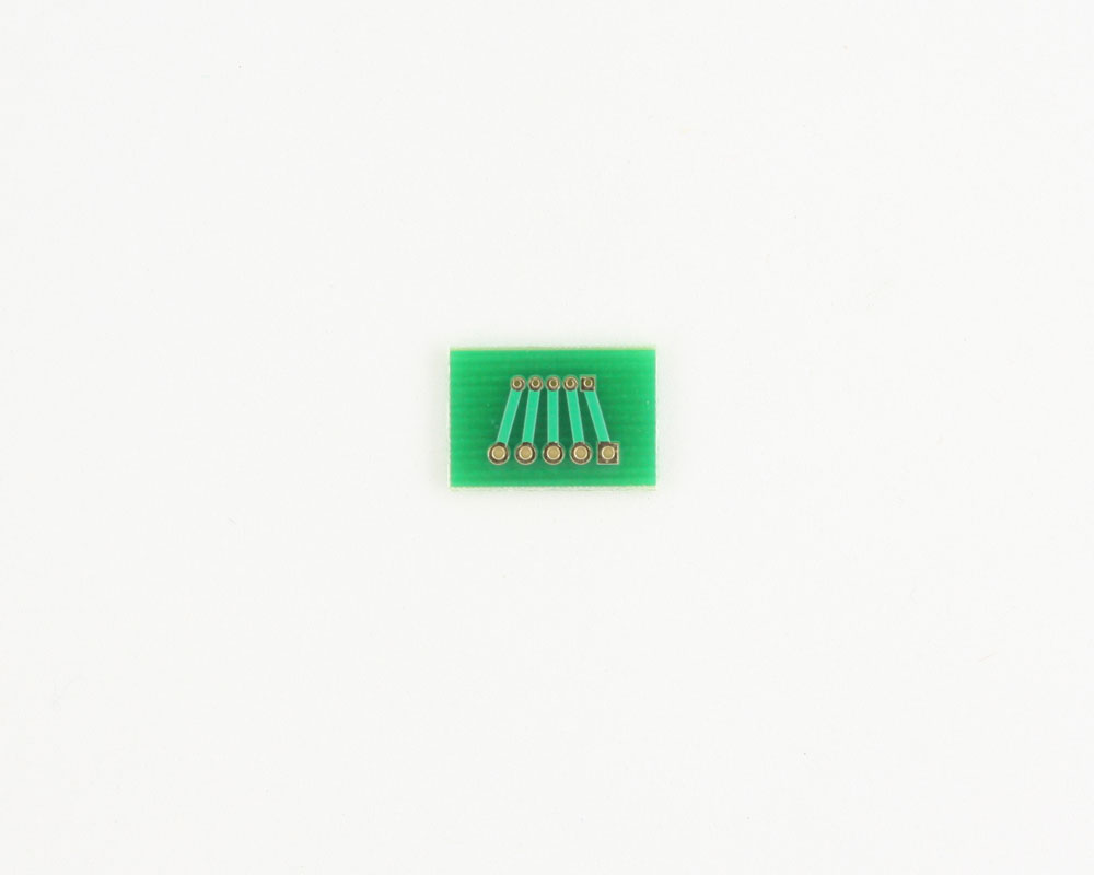 Pitch Changer 1.27 mm to 2.00 mm conversion -  5 pin 1