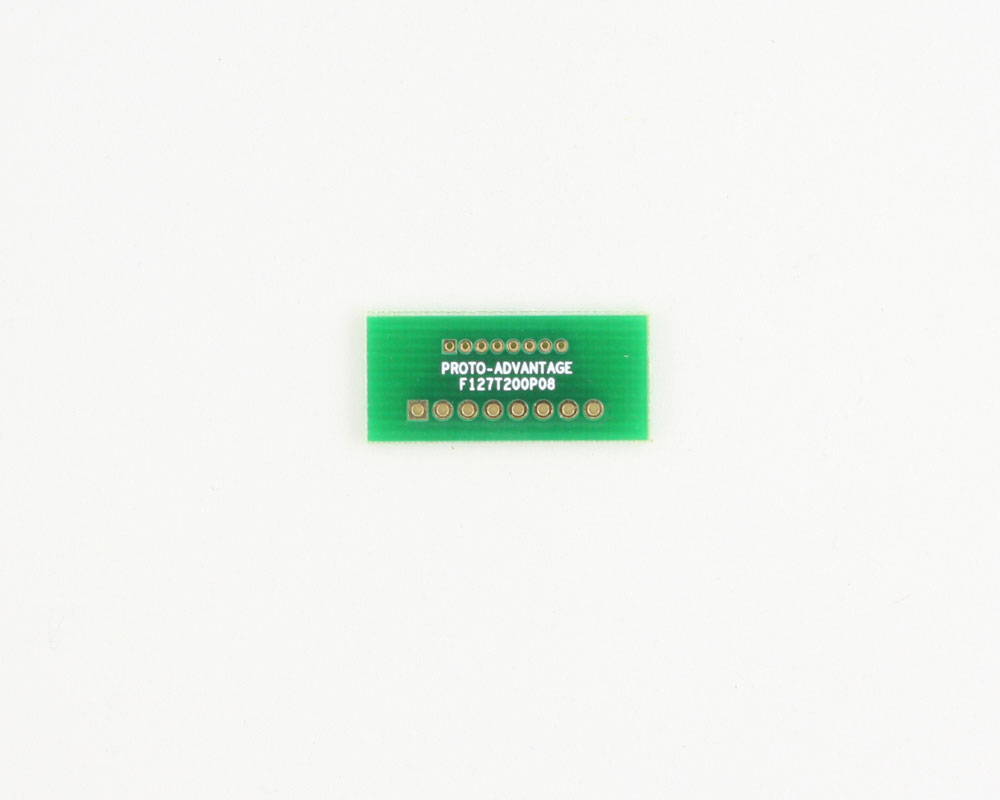 Pitch Changer 1.27 mm to 2.00 mm conversion -  8 pin 0