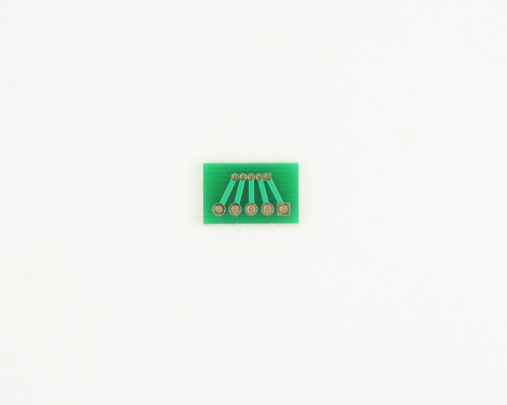 Pitch Changer 1.27 mm to 2.54 mm conversion -  5 pin 1
