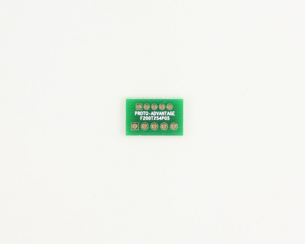 Pitch Changer 2.00 mm to 2.54 mm conversion -  5 pin 0