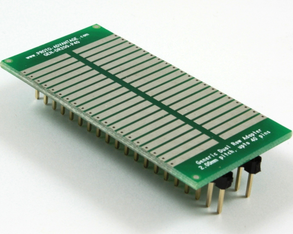 Generic Dual Row 2.00mm Pitch 40-Pin to DIP-40 Adapter 0
