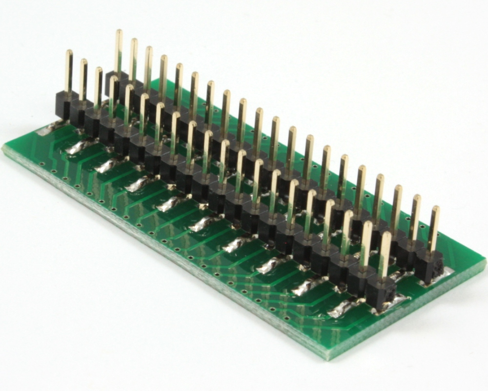 Generic Dual Row 2.00mm Pitch 40-Pin to DIP-40 Adapter 1