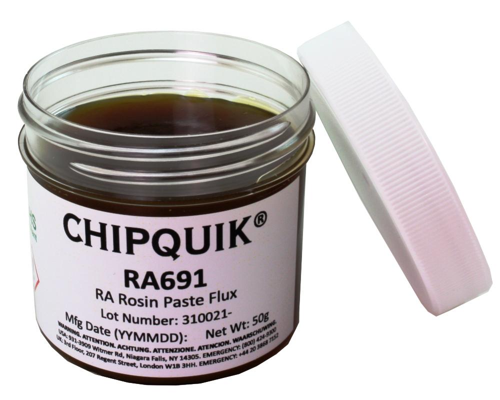 RA Rosin Paste Flux in 50 gram Jar 0