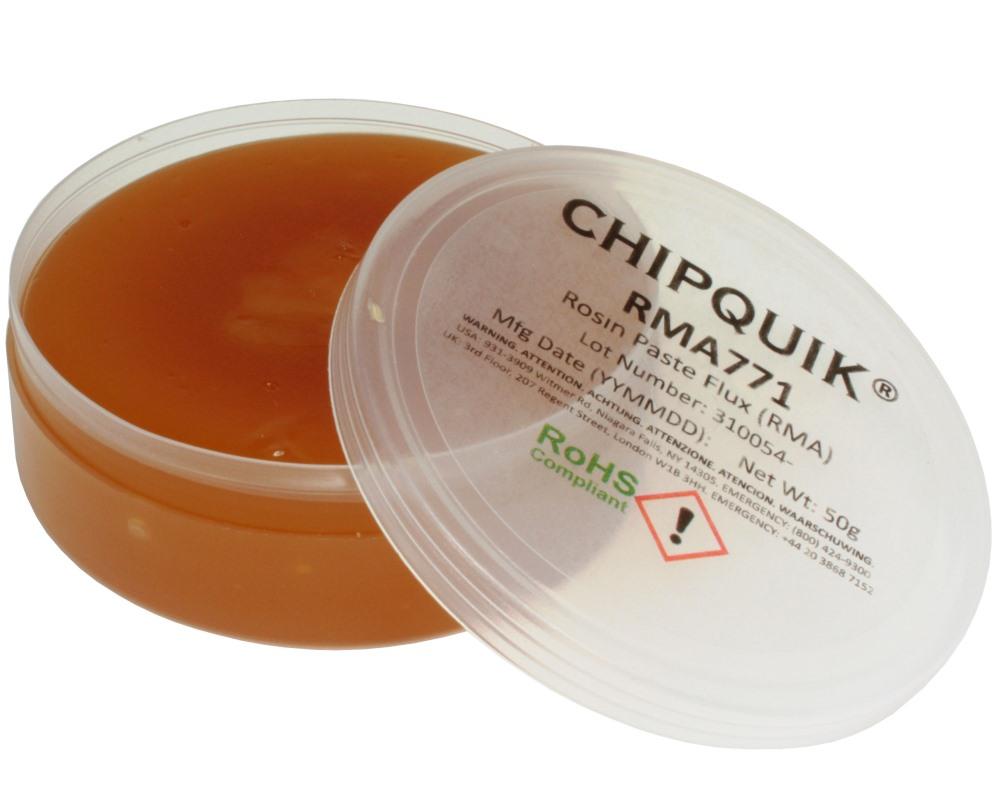 Rosin Paste Flux (RMA) in 2oz Flat Jar 50 gram 0
