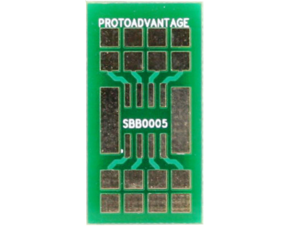 SOIC-8 SMT Adapter Breadboard - Small 0