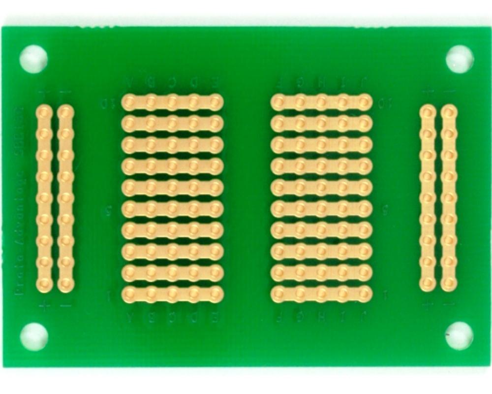 136 pts solder-in breadboard (Exact Solderless Match) 1