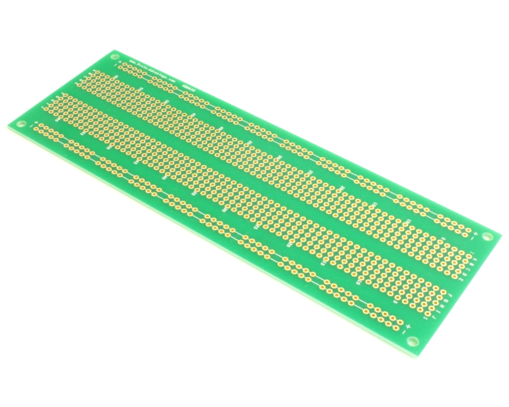 830 pts solder-in breadboard (Exact Solderless Match) Qty 25 0