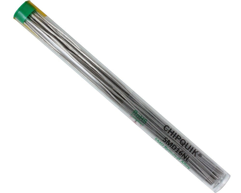 ChipQuik Alloy for SMD Removal (16ft. In 30-6.5in. Lengths) lead-free 0
