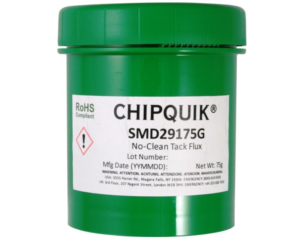 Tack Flux no-clean SMD291 in 75 gram Jar 0
