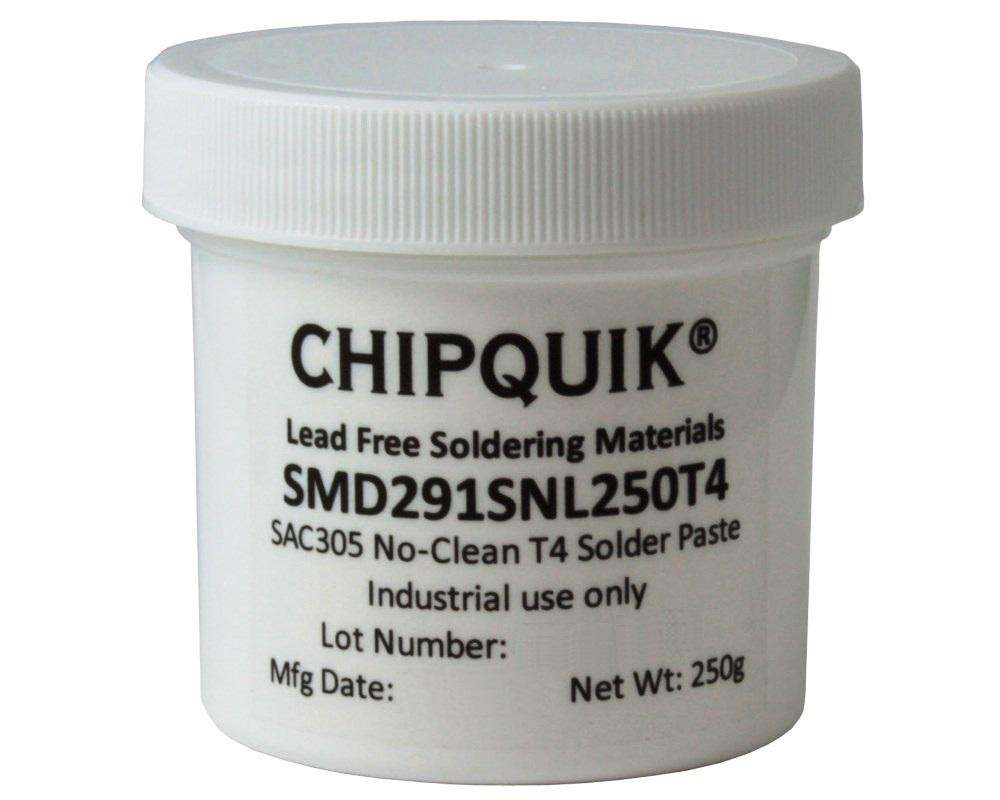 Solder Paste in jar 250g (T4) SAC305 no clean 0