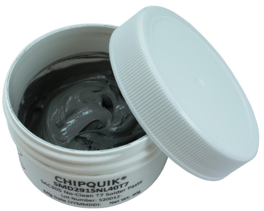 Solder Paste in jar 40g (T7) SAC305 no clean 0