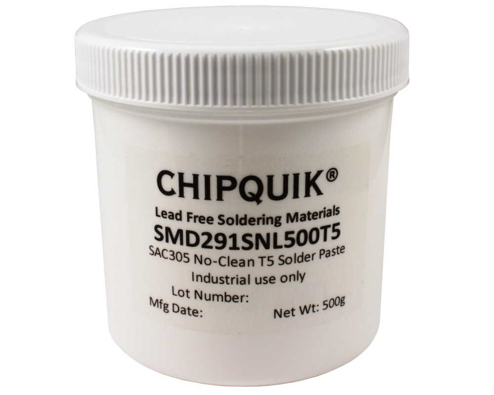 Solder Paste in jar 500g (T5) SAC305 no clean 0