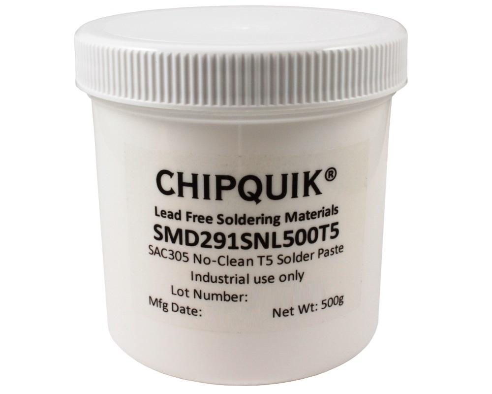 Solder Paste in jar 500g (T5) SAC305 no clean 0