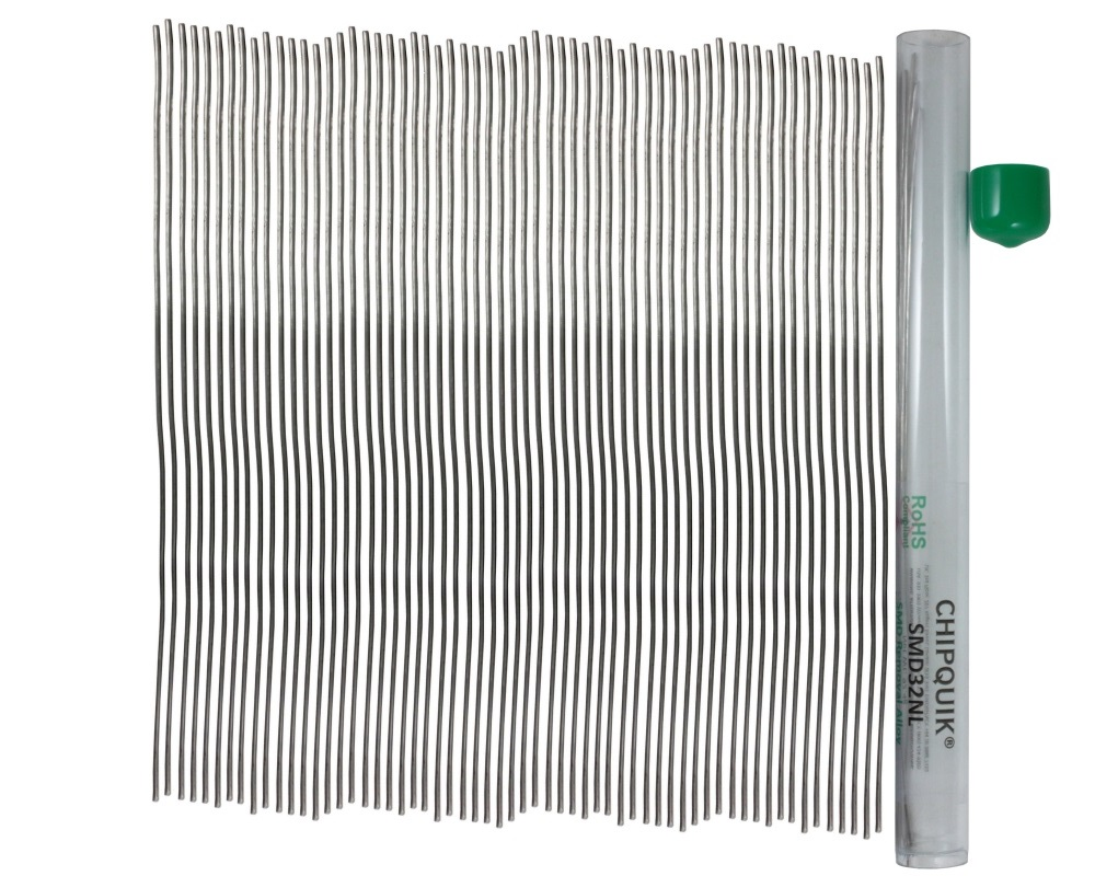 ChipQuik Alloy for SMD Removal (32ft. In 60-6.5in. Lengths) lead-free 1