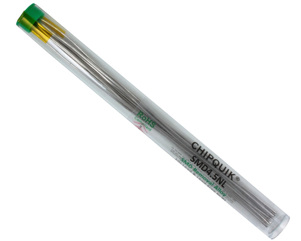 ChipQuik Alloy for SMD Removal (4.5ft. In 9-6.5in. Lengths) lead-free 0