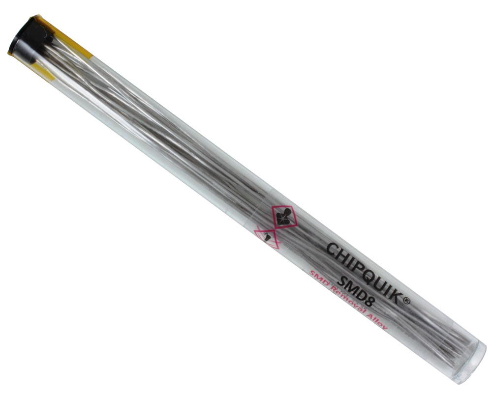 ChipQuik Alloy for SMD Removal (8ft. In 15-6.5in. Lengths) leaded 0