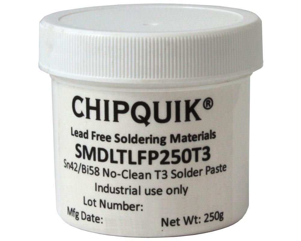 Solder Paste in jar 250g (T3) Sn42/Bi57.6/Ag0.4 Low Temperature 0