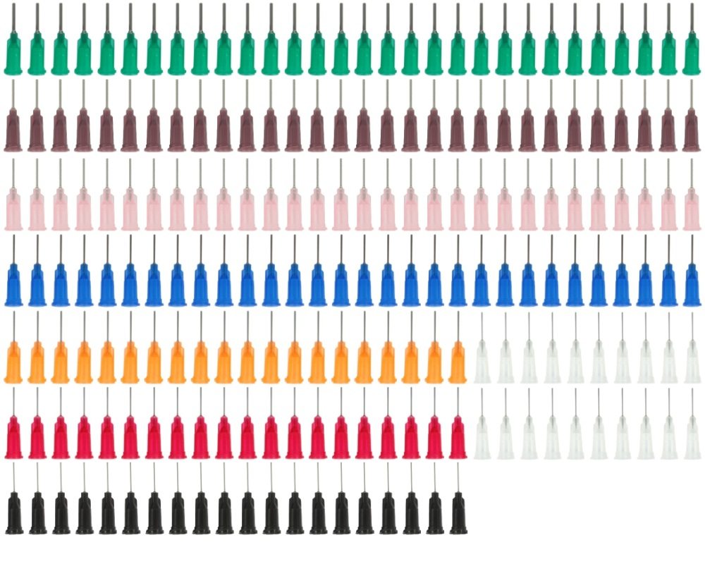 Dispensing Needles / Syringe Tips Assorted 200 Pack 0