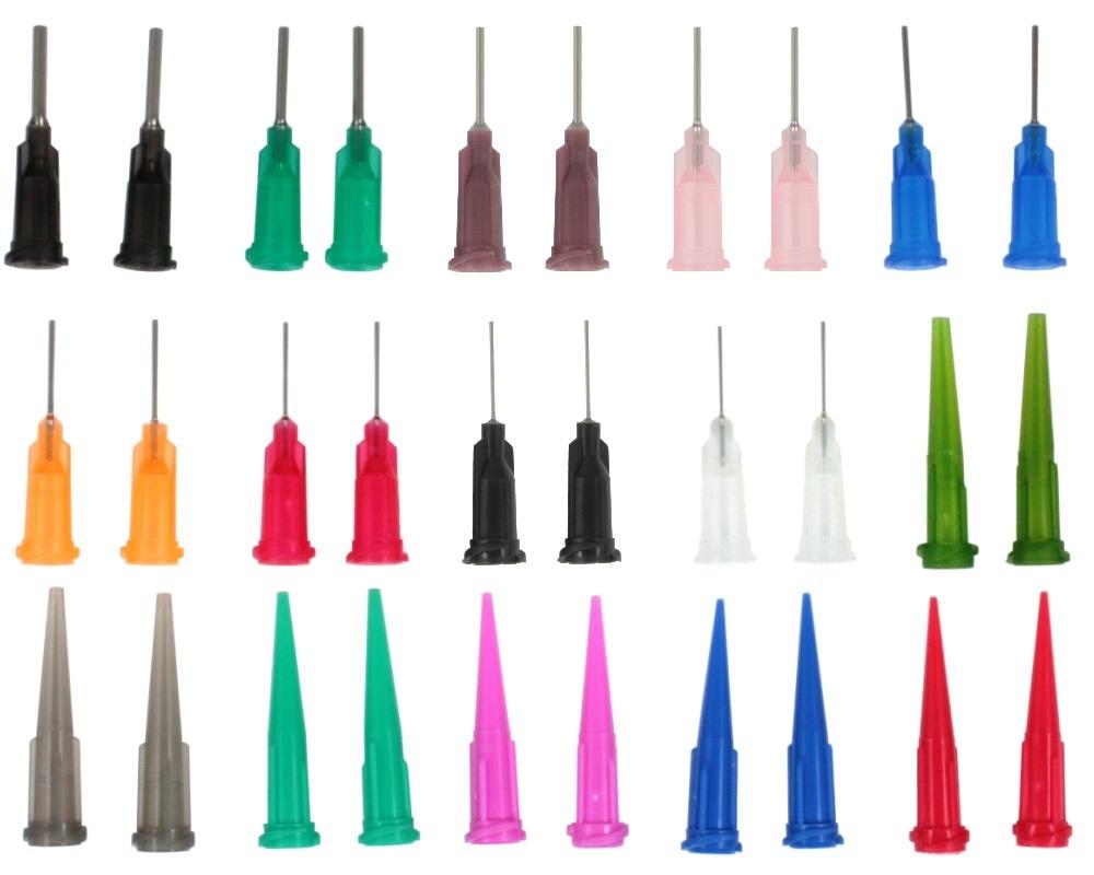 Dispensing Needles / Syringe Tips Assorted 30 Pack 0