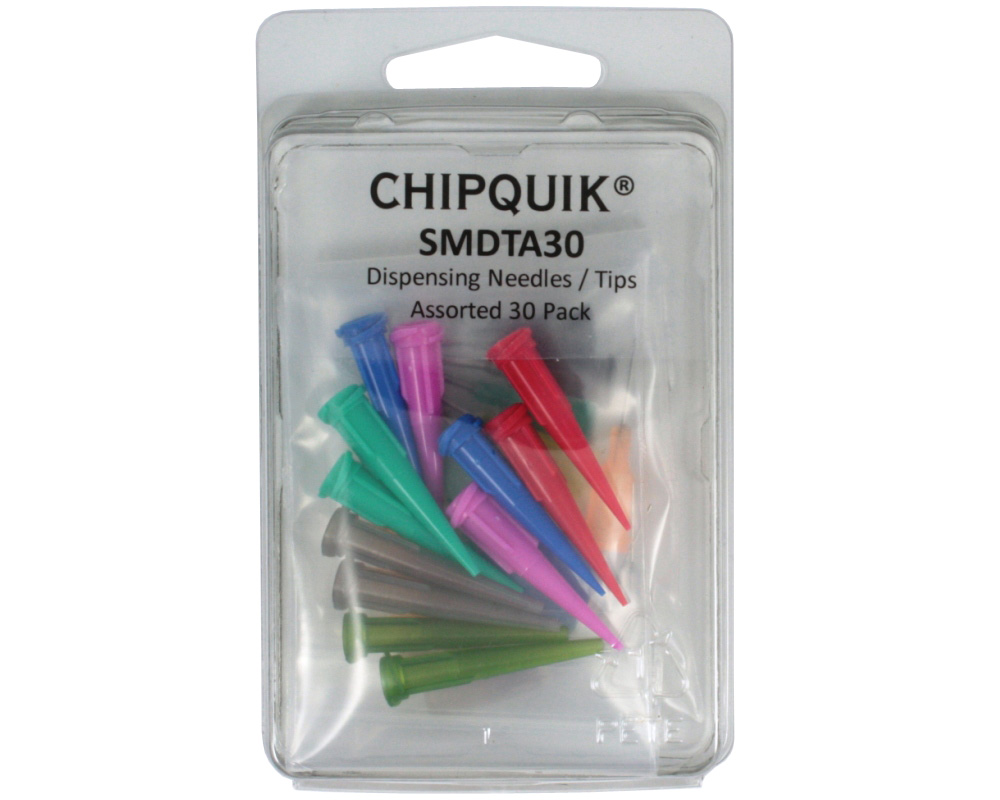 Dispensing Needles / Syringe Tips Assorted 30 Pack 1
