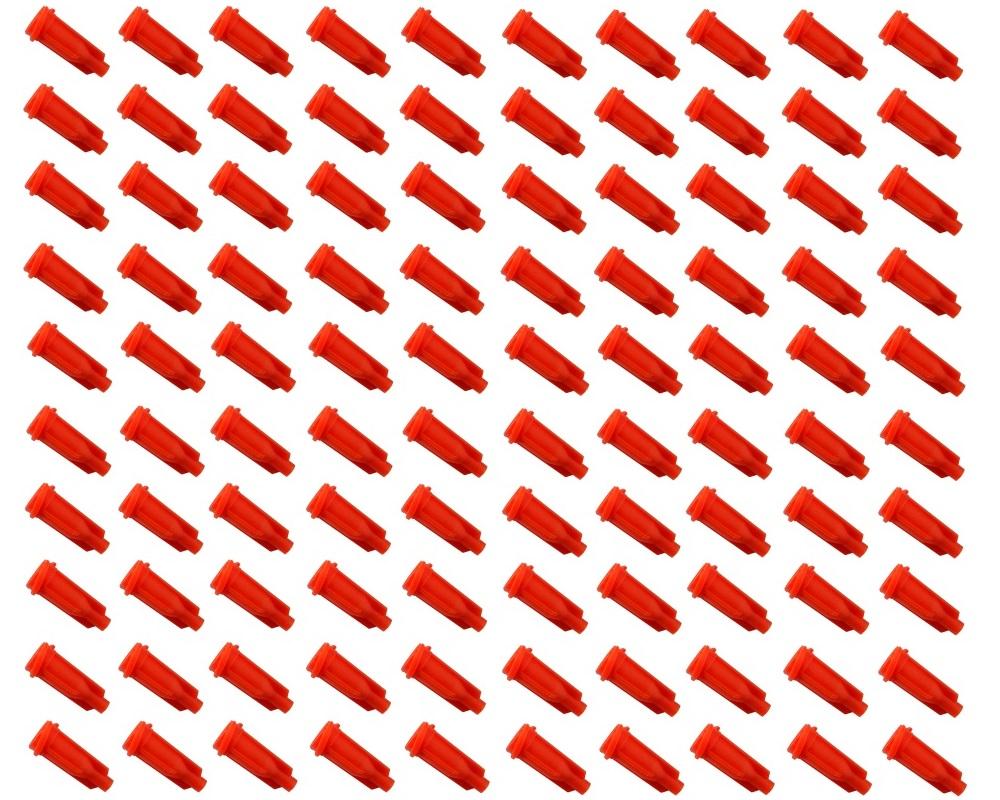 Syringe Tip Caps 100 Pack 0