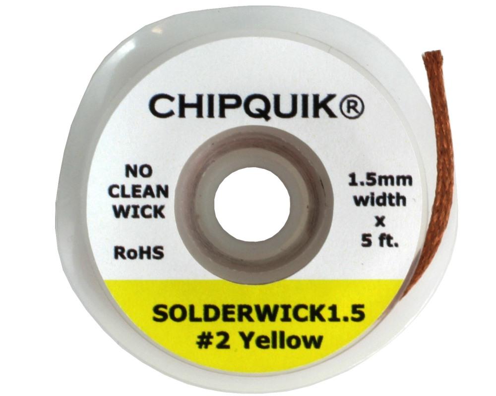 1.5mm Solder Wick - No Clean 0