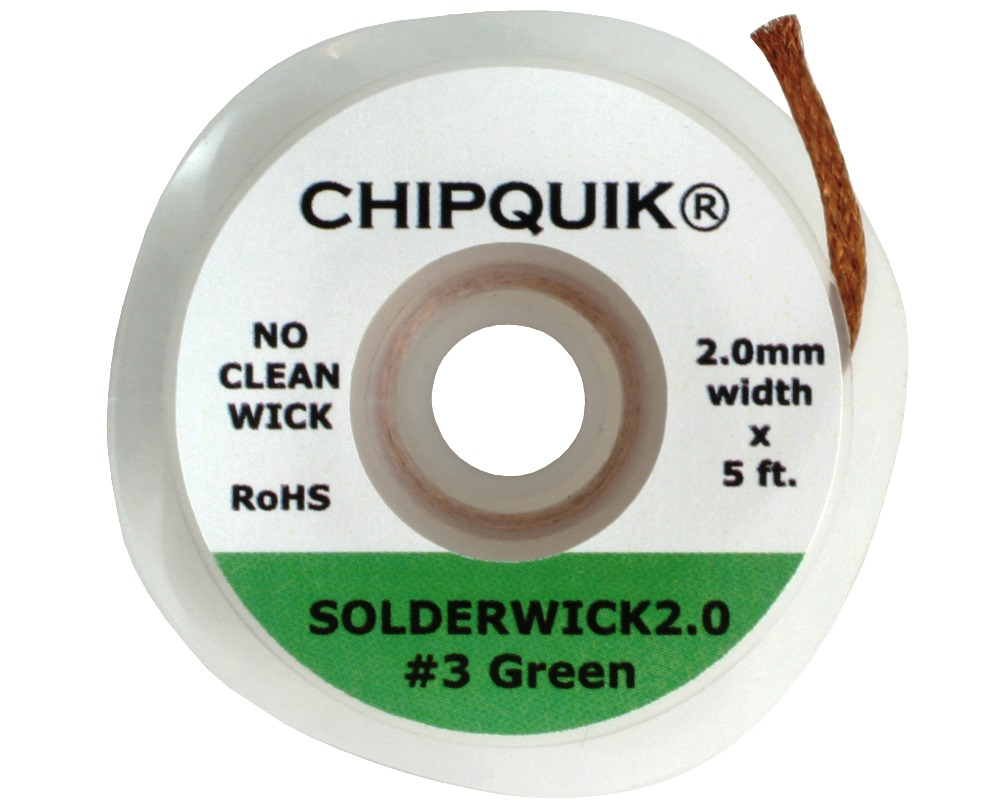 2.0mm Solder Wick - No Clean 0