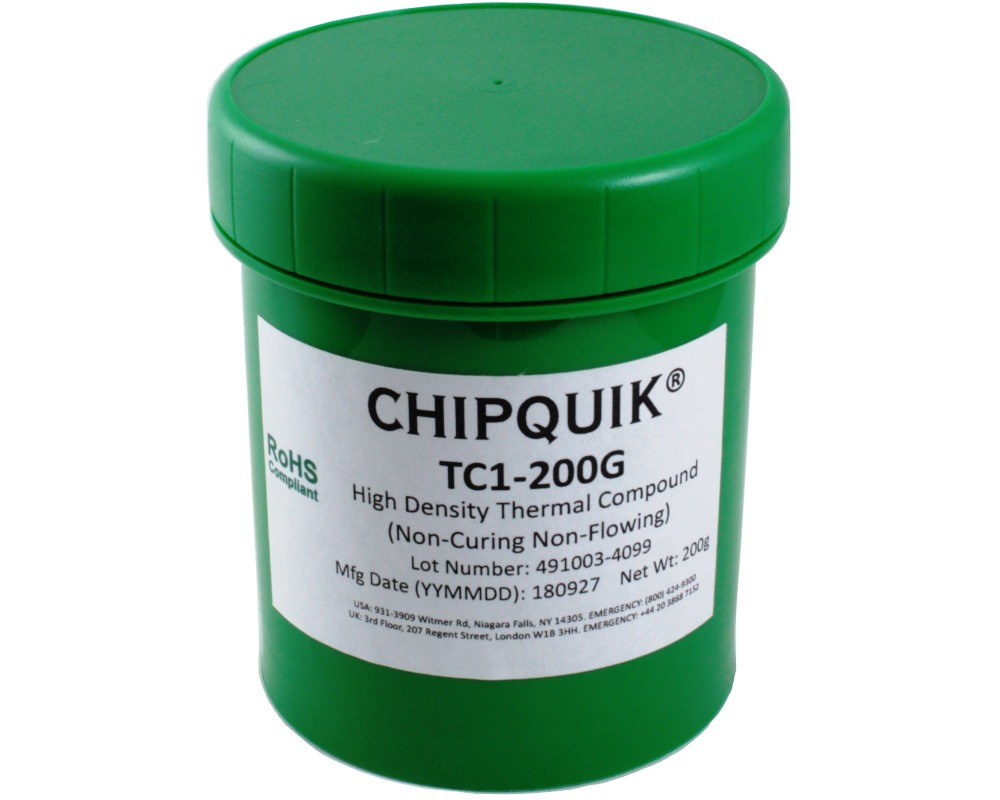 Heat Sink Thermal Compound - High Density 200g Jar 0